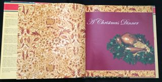 A CHRISTMAS DINNER; by Charles Dickens / Foreword by Peter Ackroyd / Illustrations by Sharon Stein / Recipes by Alice Ross /