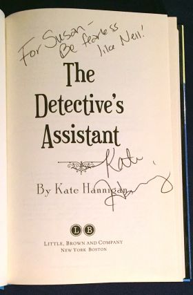 THE DETECTIVE'S ASSISTANT; By Kate Hannigan