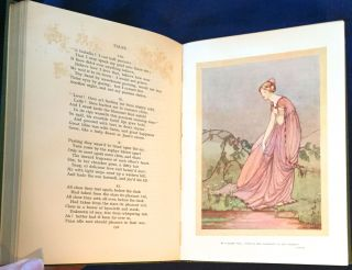 THE POEMS OF JOHN KEATS; With Twenty-Four Illustrations in Colour by Averil Burleigh