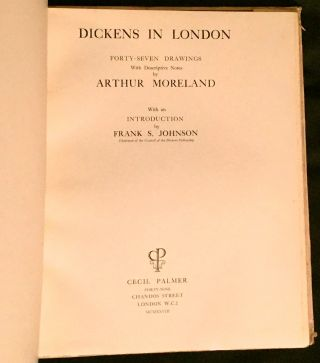 DICKENS' LONDON; Illustrated