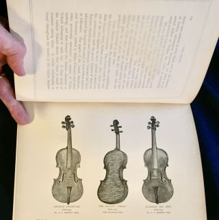 THE VIOLIN:; Famous Makers and Their Imitators / by George Hart / with Numerous Wood Engravings from Photographs of the Works of Stradivari, Guarneri, Amati, and others