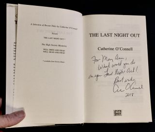 THE LAST NIGHT OUT; Catherine O'Connell