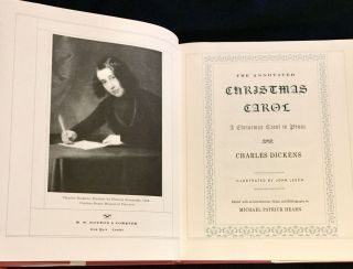 THE ANNOTATED CHRISTMAS CAROL; A Cjhristmas Carol in Prose / Charles Dickens / Illustrated by John Leech / Edited with an Introduction, Notes, and Bibliography by Michael Patrick Hearn