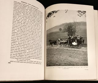 HORSES AND AMERICANS; by Phil Strong / With a frontispiece in color and one hundred and three illustrations from old prints and photographic End paper and chapter heads by Kurt Wiese