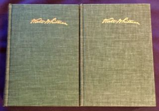THE COMPLETE POETRY AND PROSE OF WALT WHITMAN; As Prepared by him for the Deathbed Edition / with an Introduction by Malcolm Cowley