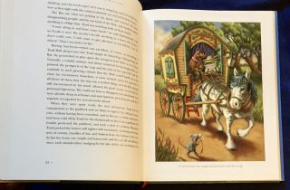 THE WIND IN THE WILLOWS; Kenneth Grahame / Paintings by Mary Jane Begin / Afterword by Peter Glassman