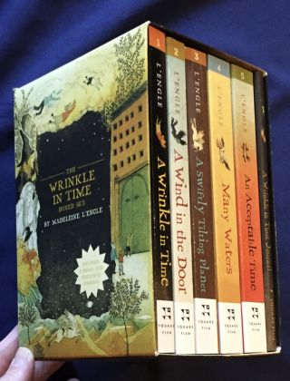 THE WRINKLE IN TIME; BOXED SET / BY Madeline L'Engle. Madeline L'Engle
