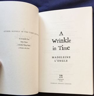 THE WRINKLE IN TIME; BOXED SET / BY Madeline L'Engle