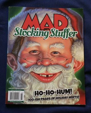 MAD; STOCKING STUFFER. Mad, artists writers