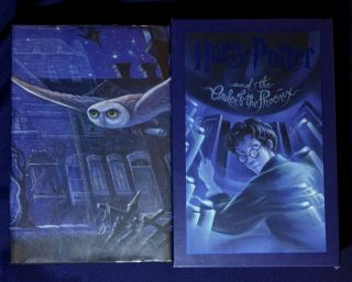 HARRY POTTER; and The Order of the Phoenix / By J.K. Rowling / Illustrations by Mary Grandpré....