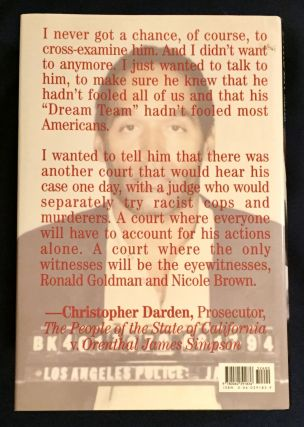 IN CONTEMPT; By Christopher Darden, Christopher Darden, Jess Walter