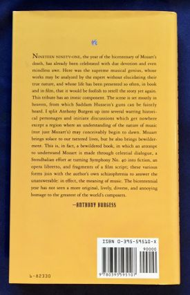 ON MOZART; A Paean for Wolfgang / Anthony Burgess