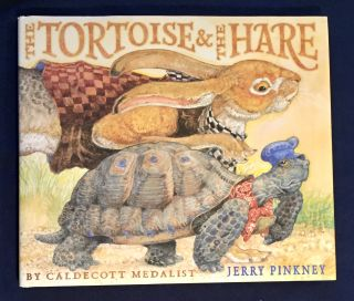 THE TORTOISE & THE HARE / Jerry Pinkney. Jerry Pinkney