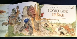 THE TORTOISE & THE HARE / Jerry Pinkney