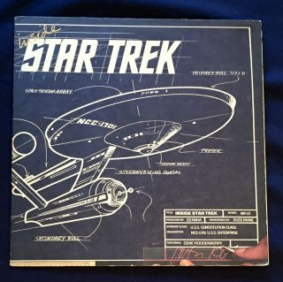 INSIDE STAR TREK; Model: MK-1X / Produced by Ed Naha / Engineered by Russ Payne / Starship Class:...