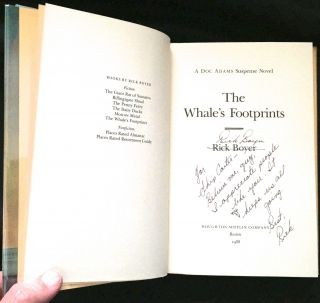 THE WHALE'S FOOTPRINTS