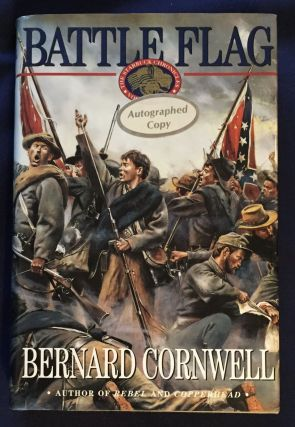 BATTLE FLAG. Bernard Cornwell