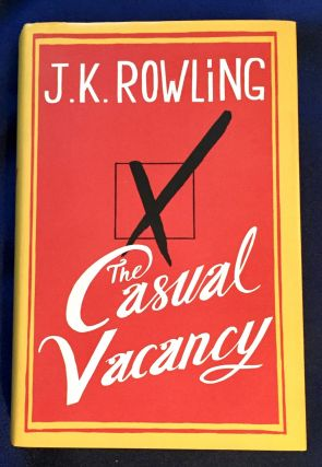 THE CASUAL VACANCY; and The Goblet of Fire / J.K. Rowling. J. K. Rowling