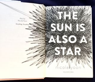 THE SUN IS ALSO A STAR; Nicola Yoon