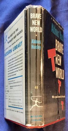 BRAVE NEW WORLD; by Aldous Huxley / With a special Foreword by the author