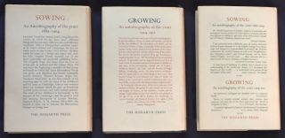 [AUTOBIOGRAPHY in 3 VOLS:] SOWING...1880 to 1904; GROWING...1904 to 1911; BEGINNING AGAIN...1911 to 1918.; An autobiography of the years 1880 to 1904 / ...1904 to 1911 / ...1911 to 1918 / By Leonard Woolf / PLUS his Typed Letter Signed.