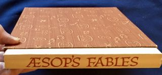 AESOP'S FABLES; Vol. IV. (Memorial Edition) A Portfolio of [30] Wood Engravings / 30 Fables from Thomas Bewick's Works, / Printed from the original blocks by Letterio Calapai / Couplets by Chester Clayton Long / Introduction by Harold Haydon