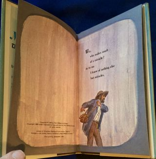 MIRACLES; The Wonder of Life / by Walt Whitman / illustrated by D. K. Stone