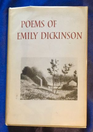 POEMS OF EMILY DICKINSON; Selected by Helen Plotz / Drawings by Robert Kipniss. Emily Dickinson