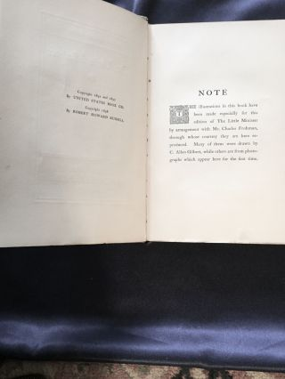 THE LITTLE MINISTER; By J. M. Barrie / Maude Adams Edition