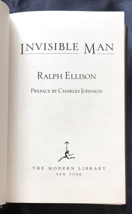 INVISIBLE MAN; Ralph Ellison / Preface by Charles Johnson