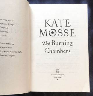 THE BURNING CHAMBERS; Kate Moss