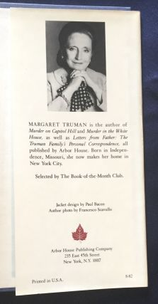 MURDER IN THE SUPREME COURT; A Novel by Margaret Truman