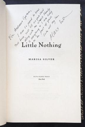 LITTLE NOTHING; Marisa Silver