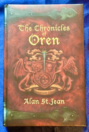THE CHRONICLES OF ØREN; Cover design by Libby Caruth Krock / By Alan St. Jean. Alan St. Jean