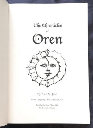 THE CHRONICLES OF ØREN; Cover design by Libby Caruth Krock / By Alan St. Jean