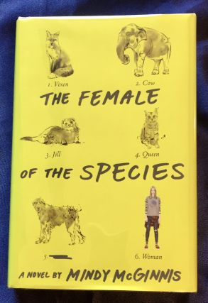 THE FEMALE OF THE SPECIES. Mindy McGinnis