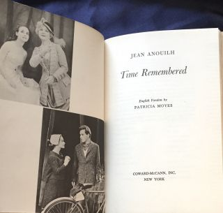 TIME REMEMBERED; English Version by Patricia Moyes