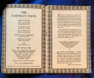THE PAMPHLET POETS