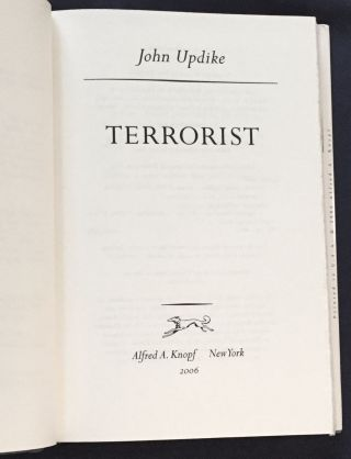 THE TERRORIST; and Other Stories