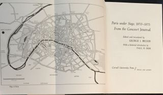 PARIS UNDER SIEGE; from the Goncourt Journal / Edited and Translated by George J. Becker.