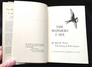 THE WONDERS I SEE; With Drawings by Walter Ferguson