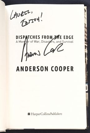 DISPATCHES FROM THE EDGE; A Memoir of War, Disasters, and Survival
