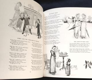 THE KATE GREENAWAY BOOK; A Collection of Illustration, Verse and Text