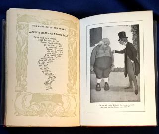 THE HUNTING OF THE SNARK; And Other Poems and Verses / Illustrated by Peter Newell