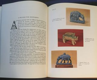 THE SYMBOLIC PIG; An Anthology of Pigs in literature and art / By Frederick Cameron Sillar and Ruth Mary Meyler / Original drawings and decorations by Oliver Holt