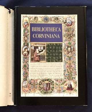 BIBLIOTHECA CORVINIANA; The Library of King Matthias Corvinus of Hungary / Corvina Kiado. Csaba...
