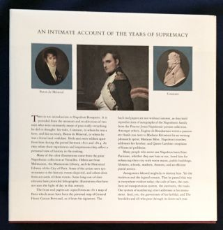 NAPOLEON; An Intimate Account of the Years of Supremacy / 1800-1814 / Edited by Proctor Patterson Jones / With Assistance by Charles-Otto Zieseniss / Preface by Jean Tulard