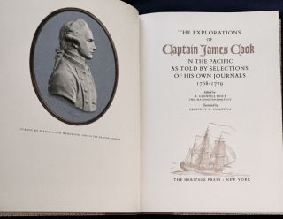THE EXPLORATIONS OF CAPTAIN JAMES COOK; In the Pacific as Told by Selections of his own Journals...