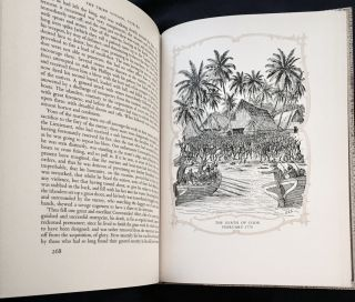 THE EXPLORATIONS OF CAPTAIN JAMES COOK; In the Pacific as Told by Selections of his own Journals 1768-1779 / Edited by A. Grenfell Price / Illustrated by Geoffrey C. Ingleton