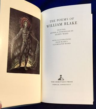 THE POEMS OF WILLIAM BLAKE; Selected, Edited, & Introduced by Aileen Ward / With Illustrations...